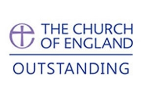 The Church of England Oustanding status logo