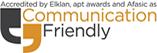 Communication Friendly accreditation logo