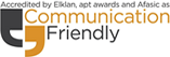 Communication Friendly accreditation logo