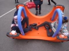 Children rocking on the SNUGG