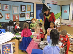 A lesson on World Book Day
