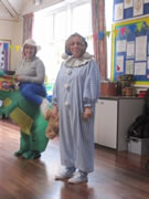 Staff on World Book Day