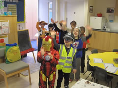 Pupils on World Book Day