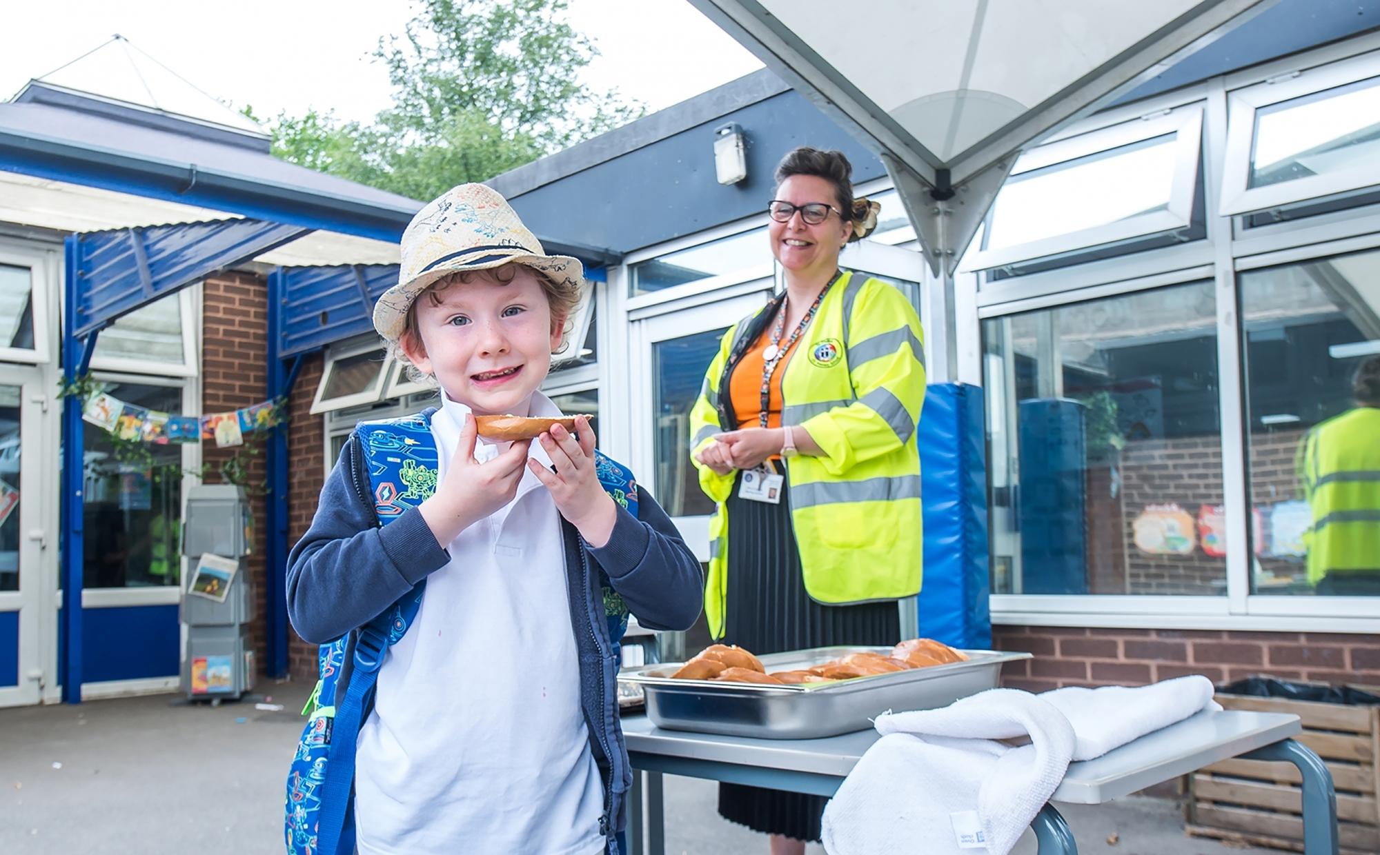 Pupil at St Philip's CE Primary School