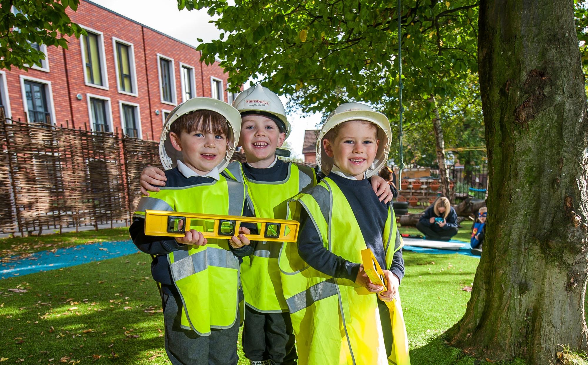Pupils at St Philip's CE Primary School
